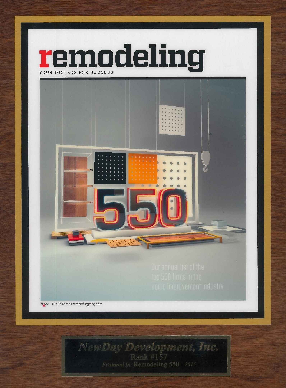 Remodeling Top 550