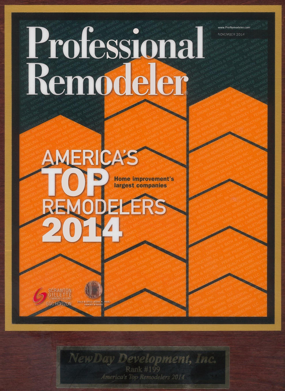 Professional Remodeler Top Remodelers 2014 #199