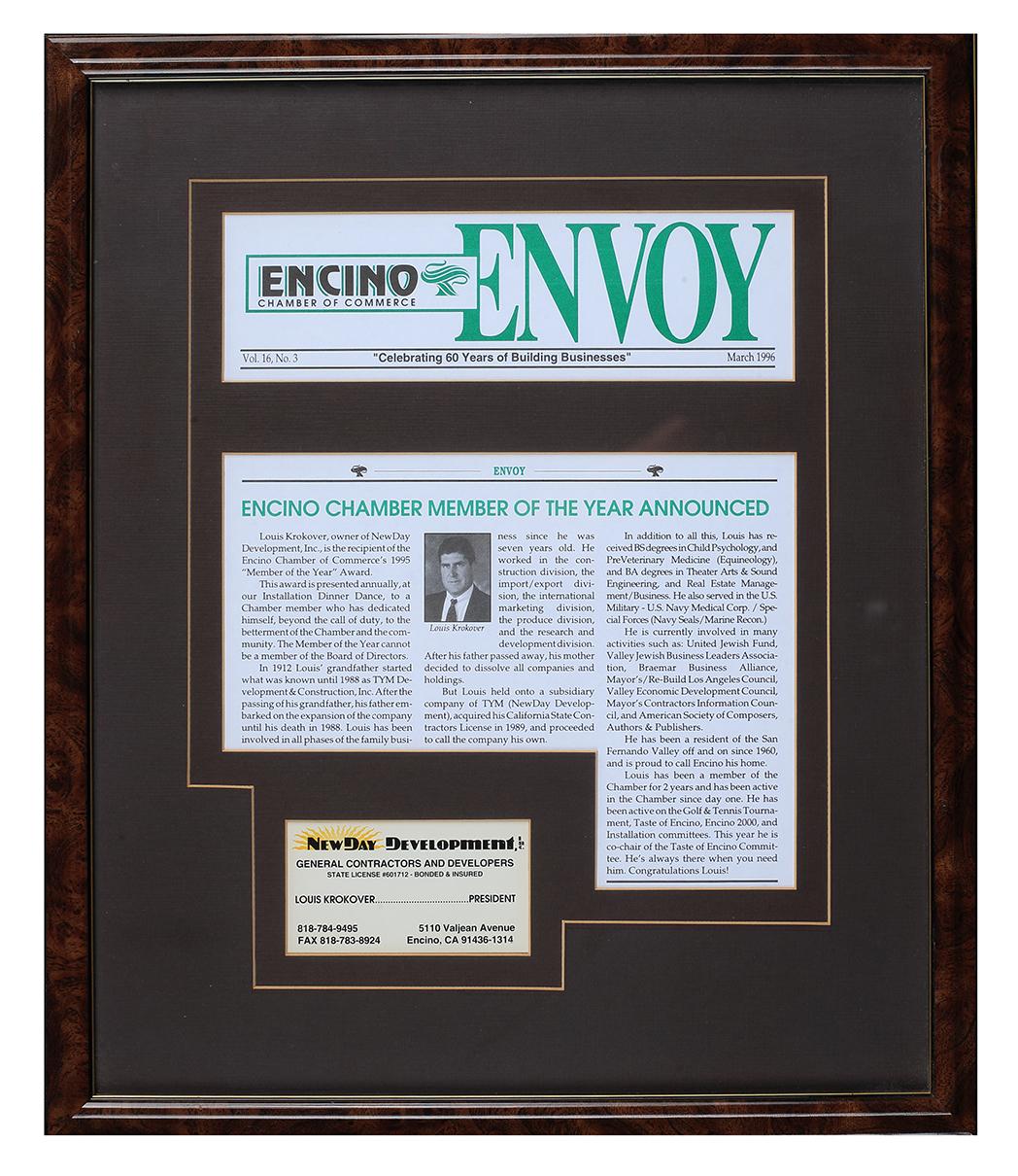Encino Press Article