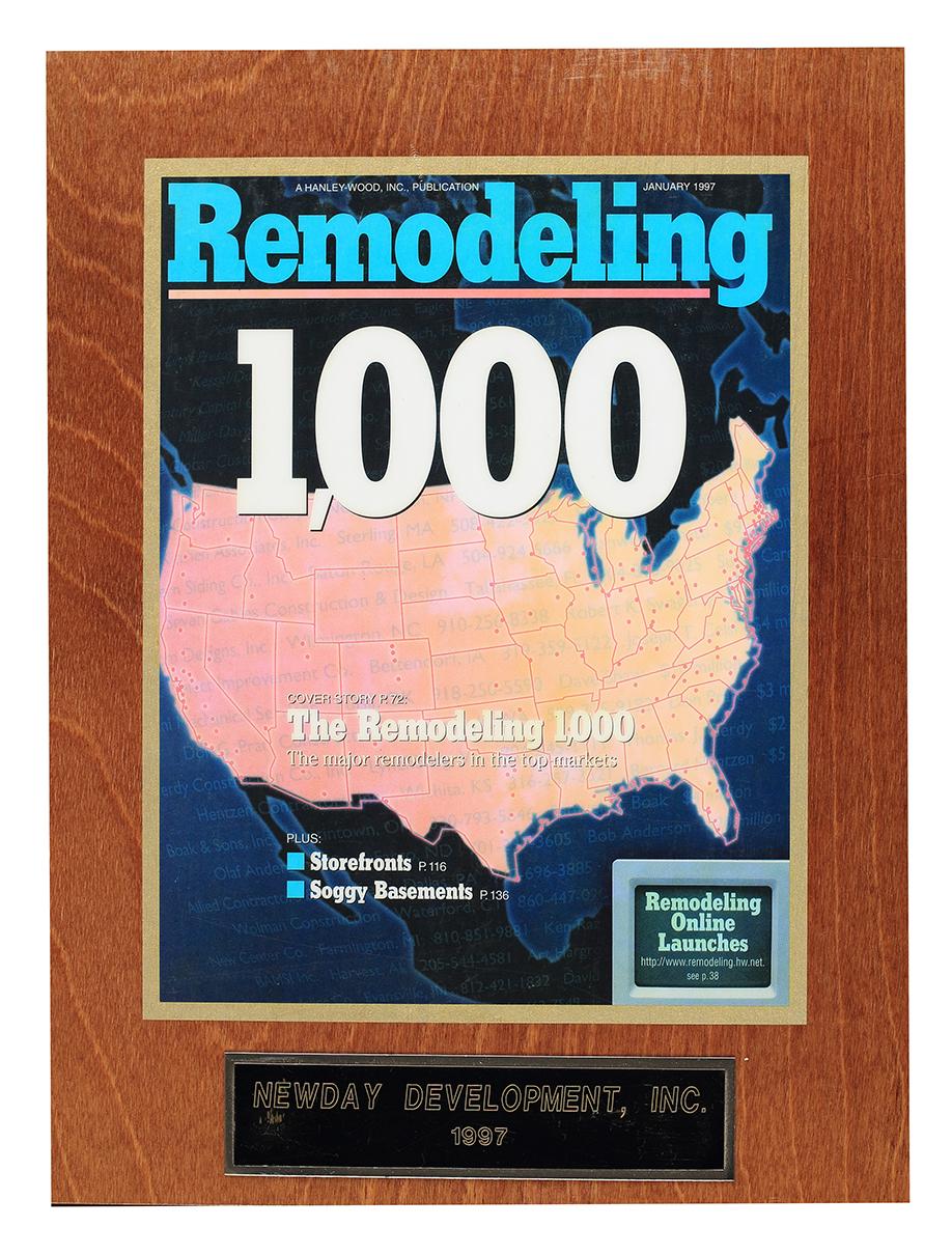 Remodeling 1000