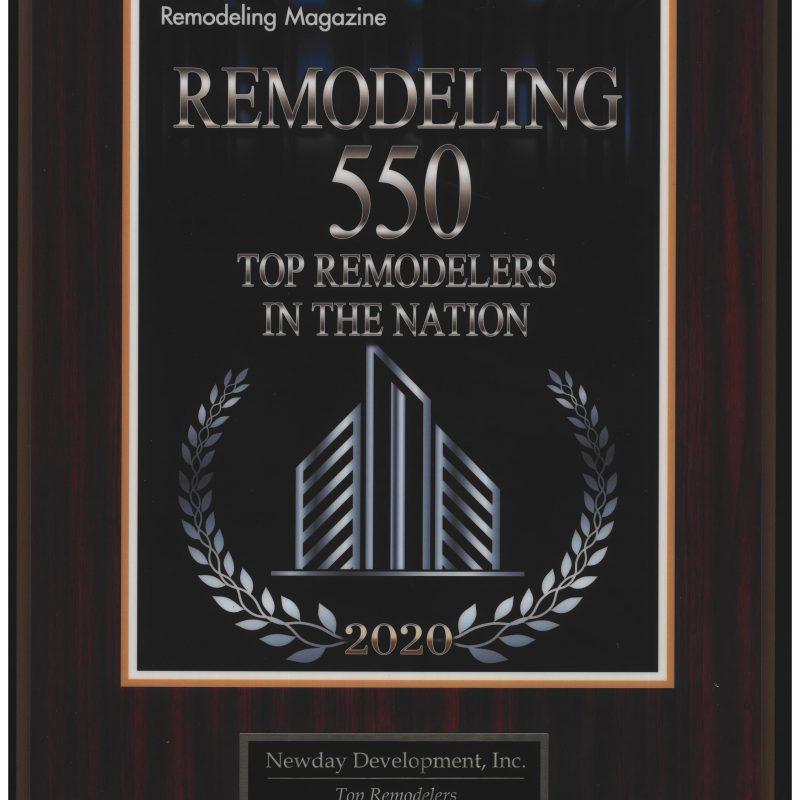 Remodeling Top 550-2021